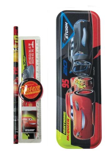 Disney Cars Disney Cars Speed  Pencil Case With Stationery Set A5DE4KC45C3422GS_1