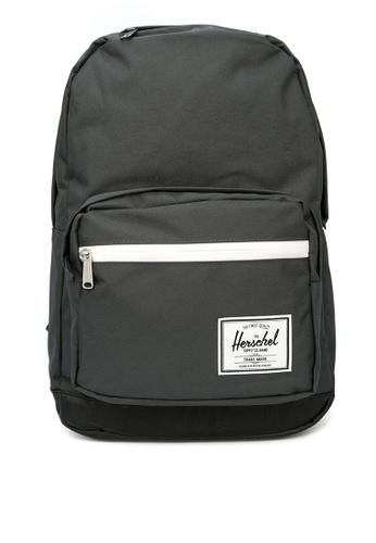 Herschel black Pop Quiz Backpack A7B61ACF34E3A4GS_1