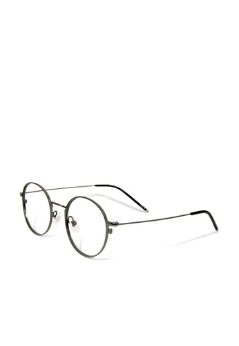 ASLLY grey Rhapsody│Anti-blue light glasses with super light grey titanium frame 1AD04GL93B3621GS_1