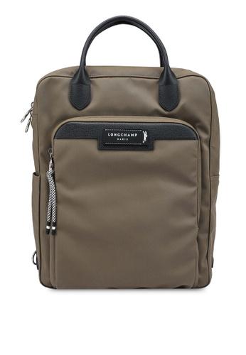 LONGCHAMP green Green District Backpack (zt) 81C73ACF1E80ADGS_1