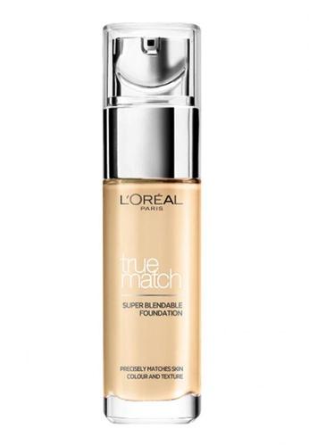 L'Oréal Paris beige L'Oreal Paris True Match Liquid Foundation F1 Rose Ivory FA02BBEA986139GS_1