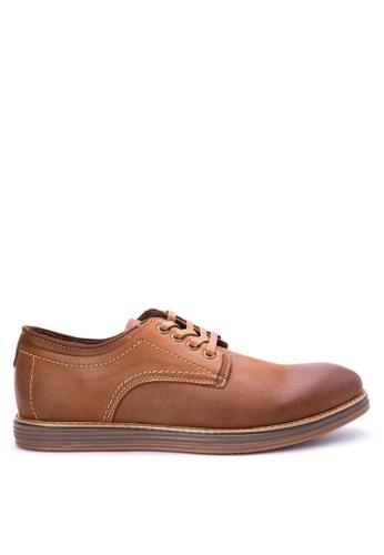 Mendrez brown Gabriel Formal Shoes ME992SH0KFLKPH_1