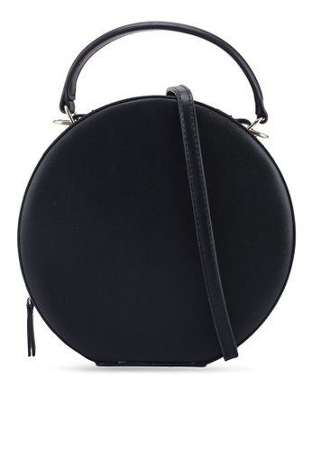 MANGO black Round Mini Bag E43B9AC6C8178CGS_1