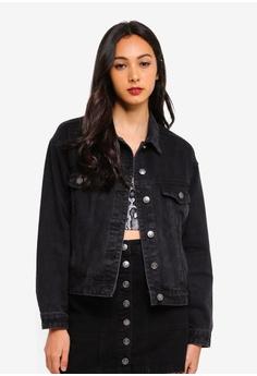 f8d8d24205e00 Supre black 80 s Denim Jacket BA2B5AA1BC6FEEGS 1