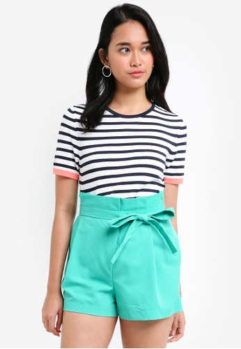 ONLY blue Suzana Short Sleeve Pullover 59809AA0C7F758GS_1