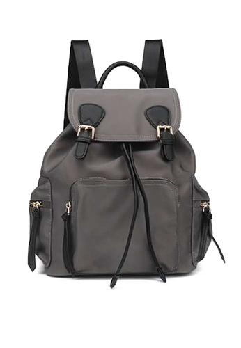 Twenty Eight Shoes grey VANSA Nylon Oxford Backpacks VBW-Bp11742 D8272AC8677D4EGS_1