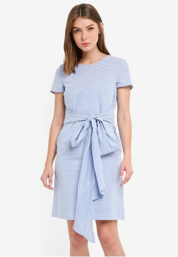 ESPRIT blue Light Woven Midi Dress 8E498AA0DF01BBGS_1