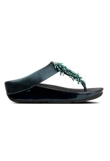 e928bc3566d13b Fitflop Rumba Toe-Thong Sandals (Galactic Green) AD342SH11162A7GS 1