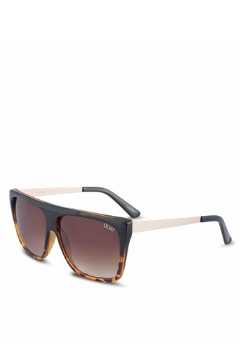 Quay Australia brown OTL II Sunglasses 696EDGLB316233GS_1