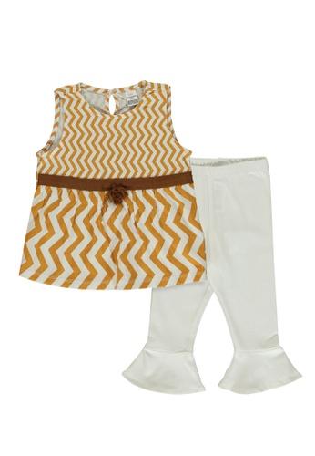 LC Waikiki beige Baby Girl's Tank Top and Leggings 88E59KADB5AFA5GS_1