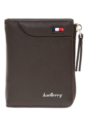 Baellerry brown Dompet Pria Model Lipat Casual Men's Wallet Many Slot Material Kulit ORIGINAL 2A305AC88CE347GS_1