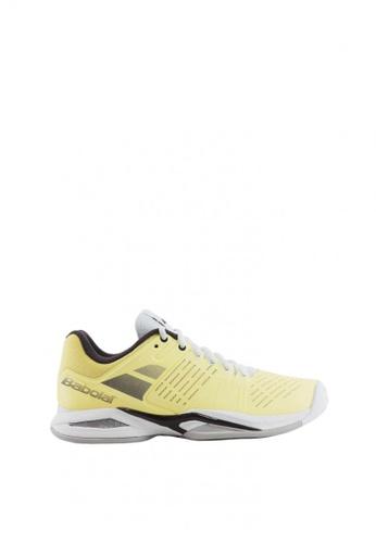 Babolat yellow Propulse Team Women's Tennis Shoes BA220SH0JRCKPH_1
