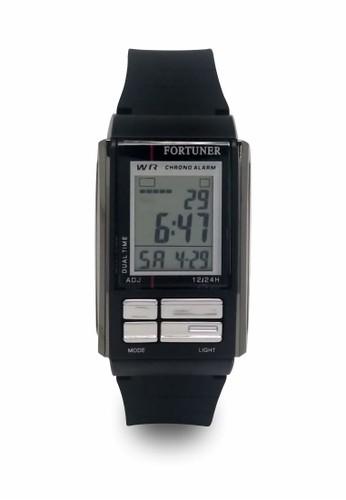 Fortuner black Fortuner Watch Jam Tangan Wanita FR JA 462 - Black A685FAC0655C35GS_1