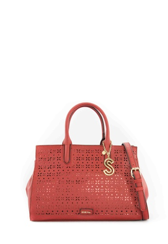 SEMBONIA red SEMBONIA Synthetic Leather Tote Bag (Red) SE598AC0SZHTMY_1