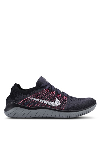 Nike black and multi Nike Free Rn Flyknit 2018 Shoes 7EA72SH96B2B53GS1