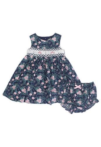 PERIWINKLE blue Freema Casual Dress with Diaper Cover 5B531KAE41DB97GS_1