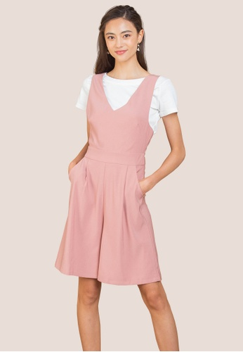 L'zzie pink LZZIE EMILIA JUMPSUIT - PINK 13A2AAAEF8B40EGS_1