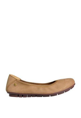 Hush Puppies beige Grace Ballerina Comfort Shoes FB867SH4E09745GS_1