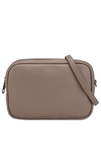 Pieces beige Filja Crossbody Bag 46306ACAD90EA7GS_1