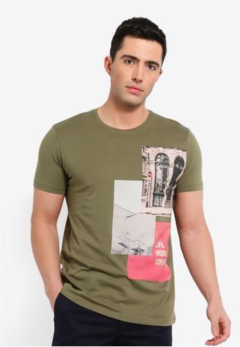 ESPRIT green Short Sleeve T-Shirt A54F2AA19A5E05GS_1