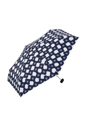 WPC blue WPC Camellia Mini Umbrella (Navy) ADFF5AC62E8F94GS_1