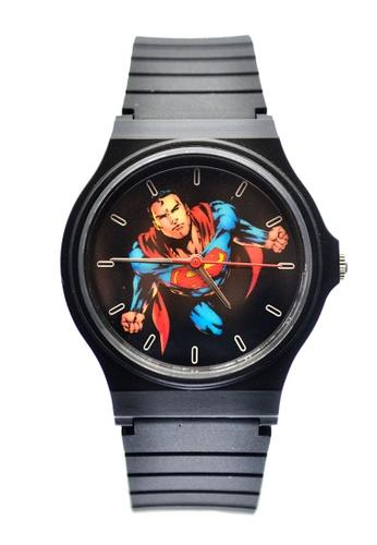JUSTICE LEAGUE black JL-011 Superman Watch 15C7CACFBF3C46GS_1