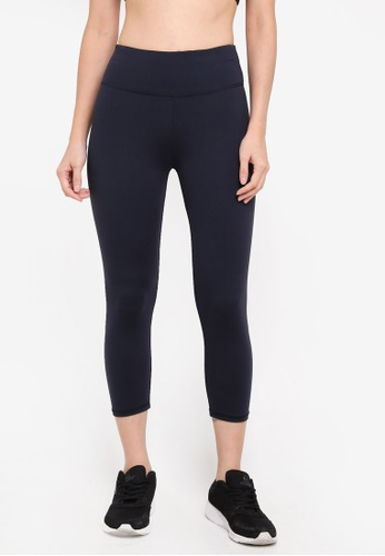 Cotton On Body navy Active Core Cropped Tights C3978AA7332B26GS_1