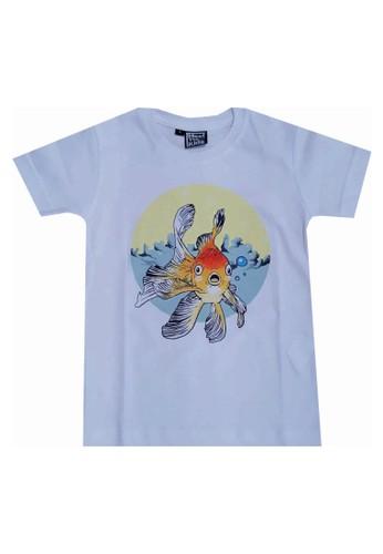 Meet The Kids white The Fish Article B0722KA672E3D6GS_1