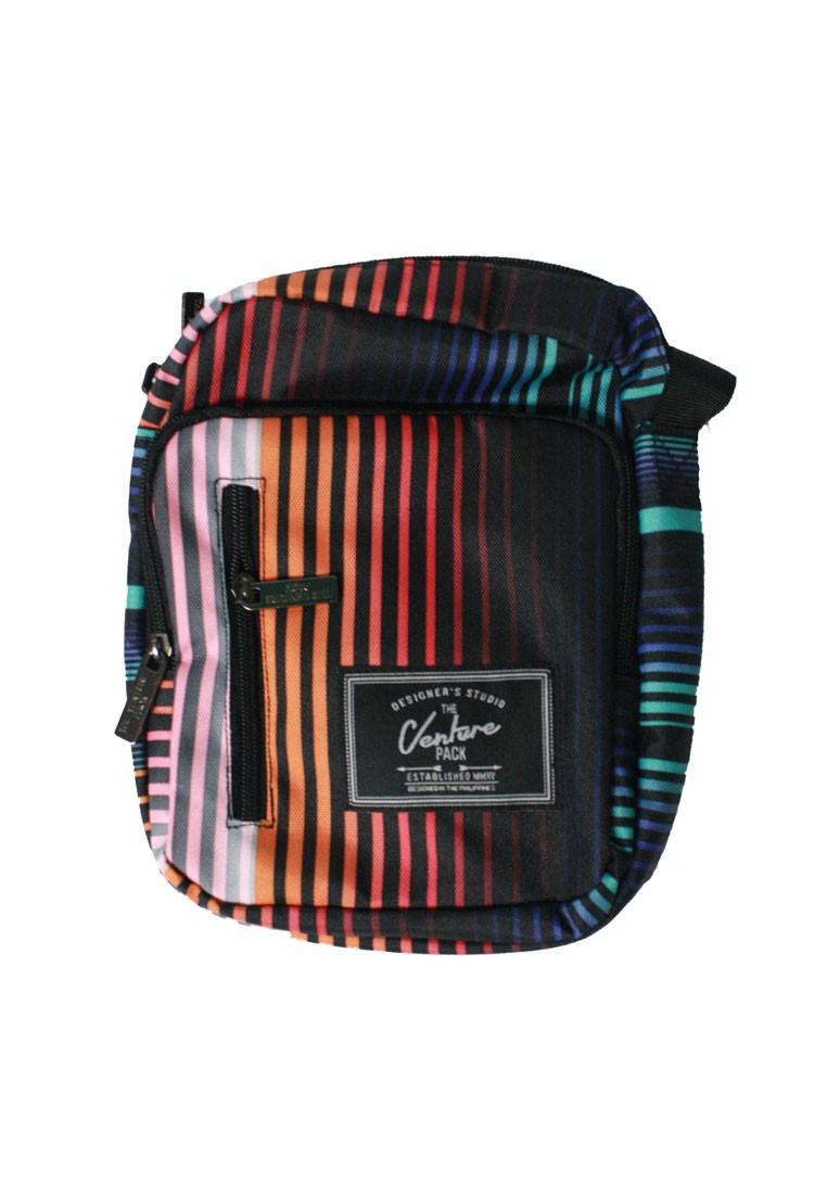 Neon Pinstripe Sling Bag