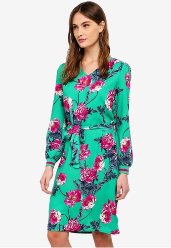 Vero Moda green Holly Dress 8EAA2AAC69F467GS_1
