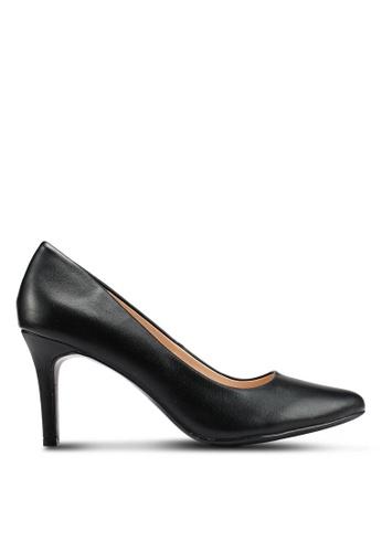 BETSY 黑色 仿皮高跟鞋 4F9F3SH534156BGS_1