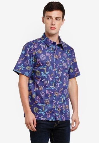 Factorie 多色 Short Sleeve Oversized Shirt C4AADAA8F7AA9CGS_1