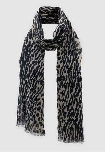 687e767726 Buy Banana Republic Leopard Print Rectangle Scarf Online on ZALORA Singapore
