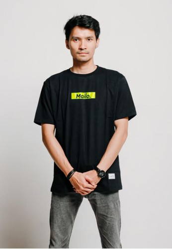 Mailo black Mailo T-Shirt Greek Good A529FAA40AD92CGS_1