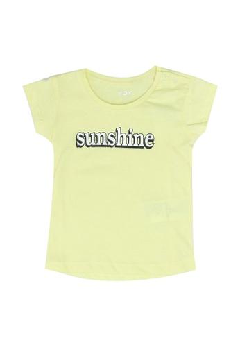 FOX Kids & Baby yellow Baby Girl Short Sleeve Tee 18380KA8F26E3FGS_1