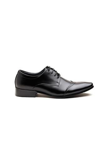 Kings Collection 黑色 奧爾科特皮鞋 1E8DBSH38ADB8BGS_1