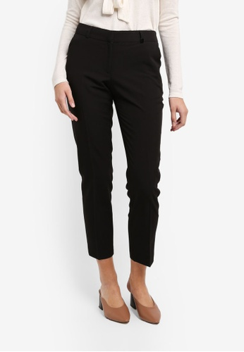 Dorothy Perkins black Regular Black Naples Trousers 5849CAA87A3F85GS_1
