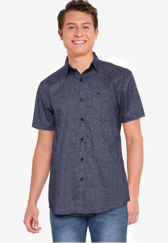 Fidelio 藍色 Signature 短袖 襯衫 31117AA778CD07GS_1
