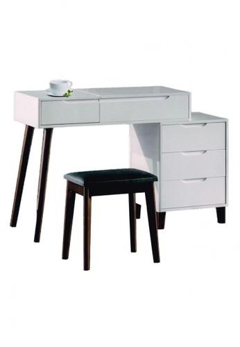 Choice Furniture white Choice Furniture - Destinee Dressing Table AC34DHLB3148E9GS_1