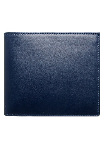 72 SMALLDIVE blue 72 Smalldive 8 Credit Card Small Buffed Leather Billfold Wallet In Navy Blue 5F646AC887DD7DGS_1