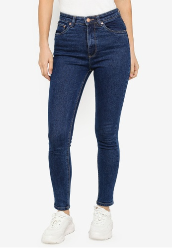 Electro Denim Lab blue Summer High Rise Skinny Jeans 9BE30AA0578DF8GS_1