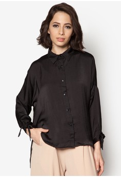 Tie Knot Sleeve Shirt