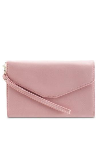Bagstationz pink Multipurpose Travel Large Clutch BA607AC20TKHMY_1