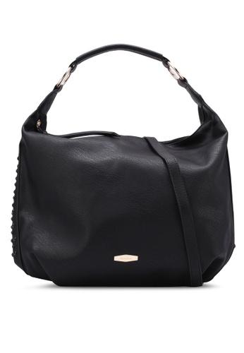 Perllini&Mel black Faux Leather Single Handle Bag PE444AC0SBKVMY_1
