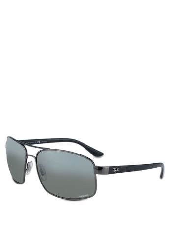 Ray-Ban grey RB3604CH Sunglasses EA650GLC0D5BC4GS_1