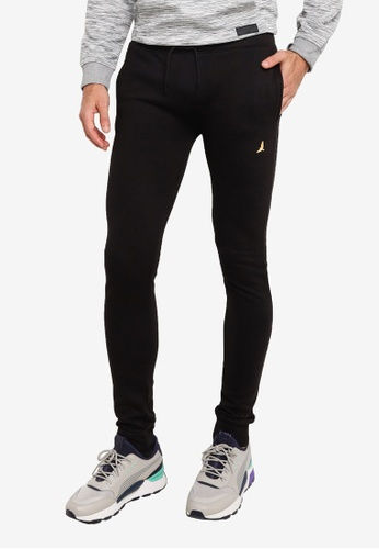 Brave Soul black Pack Elasticated Waist Joggers 09821AABA34F52GS_1
