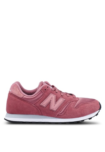 New Balance pink 373 Lifestyle Shoes CA5E6SHED59756GS_1