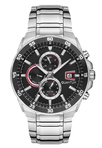 Quantum silver Sporty Men's Watches QTM ADG672.350 49A26ACE7F1A6BGS_1