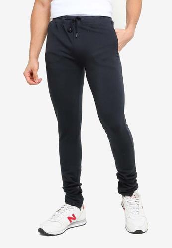 Brave Soul navy Elasticated Waistband Jogger Pants 48DC3AA61392E3GS_1