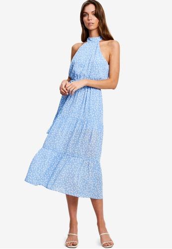Tussah blue Karlia Midi Dress 9E6C0AA657D70DGS_1